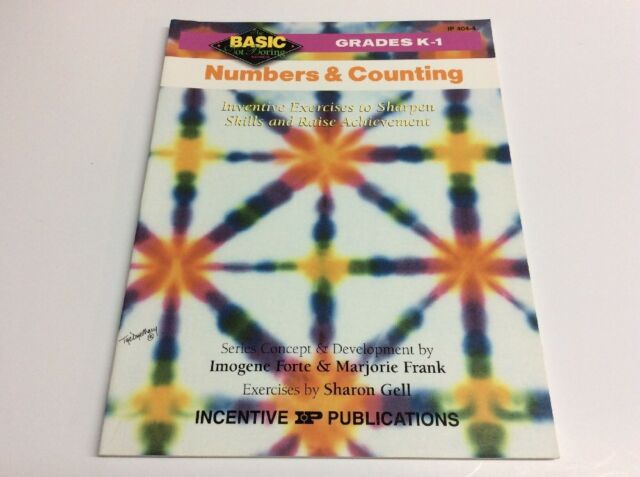 Basic Not Boring ~ Numbers, Counting ~ Answer Key ~ K Kindergarten, Grade 1