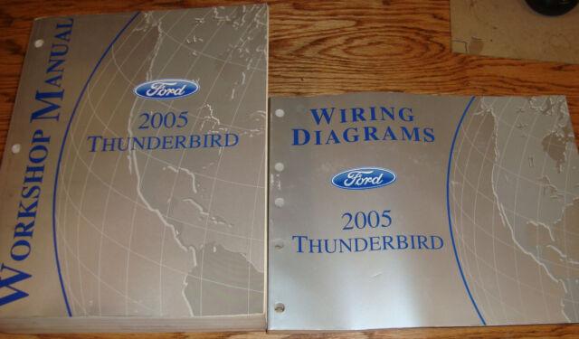 Original 2005 Ford Thunderbird Shop Service Manual   Evtm