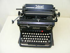 alte Schreibmaschine Ideal Seidel & Naumann, Dresden, inklusive Staubschutz