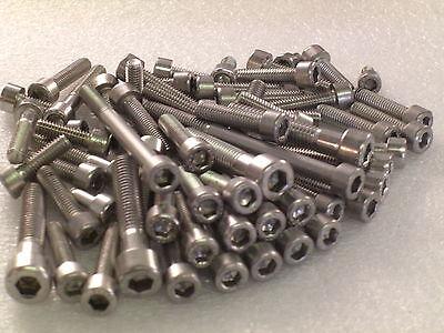 Honda CBR1100XX Blackbird 1997-2005 Engine Stainless Allen Bolts Capscrews Kit