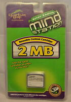Sealed 2 Mb Reusable Content Cartridge Leapfrog Quantum Leap Mind Station 40052