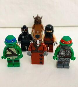 LEGO NEW TEENAGE MUTANT NINJA TURTLE FOOT SOLIDER MINIFIGURE FIG