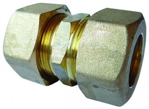 Sistema de compresión de latón AIGNEP 08 conector recto tubo OD 8mm X 8mm tubo OD