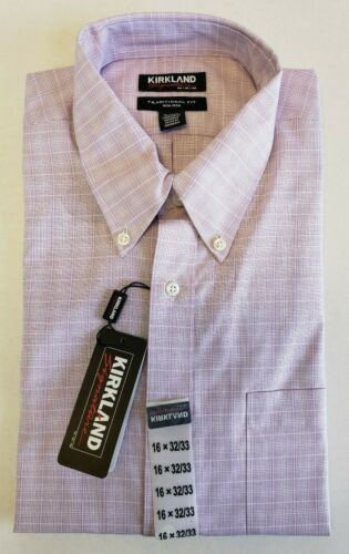 Choose Size//Color Kirkland Signature Traditional Fit Button Down Collar Shirt