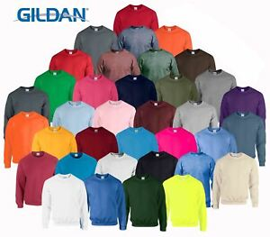 Gildan-Heavy-Blend-Adult-Crew-Neck-Pullover-Sweatshirt-Sweater-Workwear-Uniform