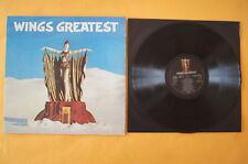 Wings - Greatest, Paul McCartney, LP EMI, 1978, mit Poster