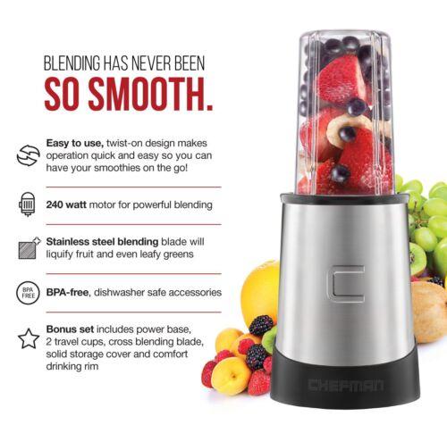 Personal Smoothie Blender Juicer Drink Maker Kitchen Appliance Blending Machine