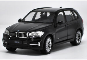 Welly-1-24-BMW-X5-Black-Diecast-Model-Car-Vehicle-New-in-Box