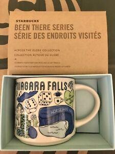 Starbucks Coffee Been There Series 14oz Mug NIAGARA FALLS Cup w/SKU