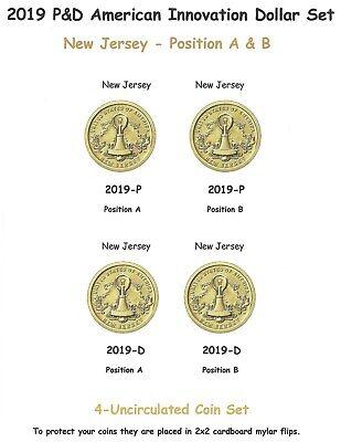 Georgia Dollar Uncirculated 2 Coin Set 2019-D A/&B American Innovation