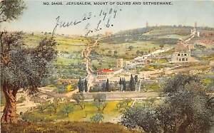 br104934 mount of olives and gethsemane jerusalem israel