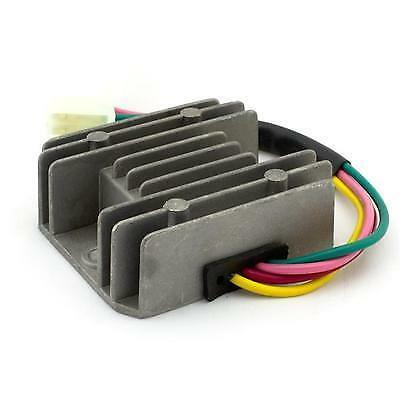 Universal 4 Wire 2 Phase Motorcycle Regulator Rectifier 12v DC Bike ...