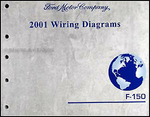 2001 Ford F-150 Wiring Diagram Manual Original F150 Electrical ...