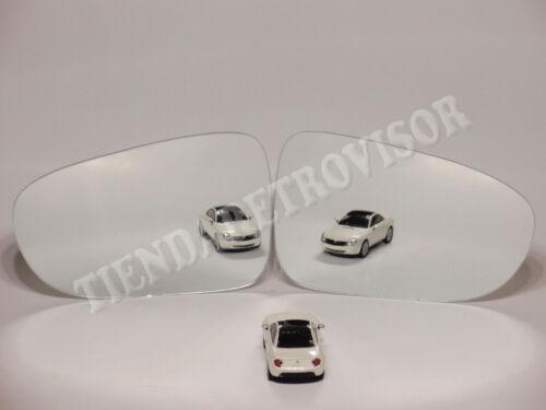 VW SHARAN 1995-1998 CRISTAL RETROVISOR LATERAL CONVEXO MIROIR GLACE ESPELHO