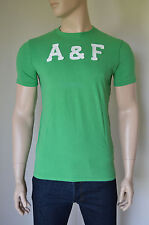 NUOVO ABERCROMBIE & FITCH LEWEY Mountain TEE T-SHIRT GREEN XXL