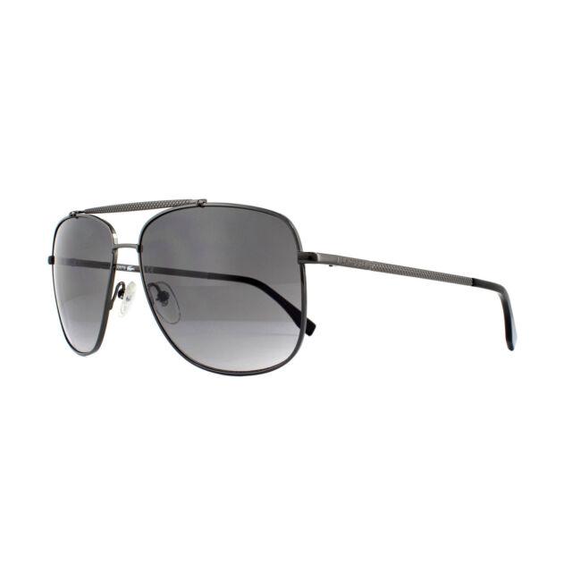 d59dcfc8f679 Lacoste Sunglasses L188s 033 Gunmetal Grey Gradient for sale online ...