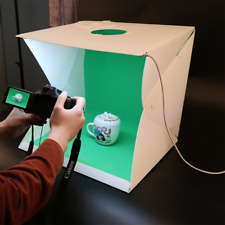 "16"" 40cm Portable Photography Lighting Tent Photo Studio Light box 4 Backdrops"