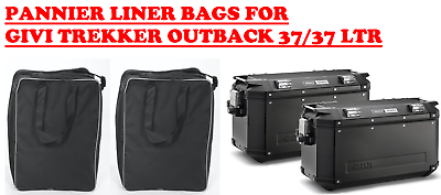 PANNIER BAGS INNER LINER BAGS LUGGAGE BAGS TO FIT GIVI TREKKER OUTBACK 37//37 LTR