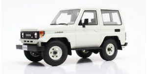 Toyota Landcruiser Bj70 biancao 84-89 Cult Scale Models 1 18 Escala