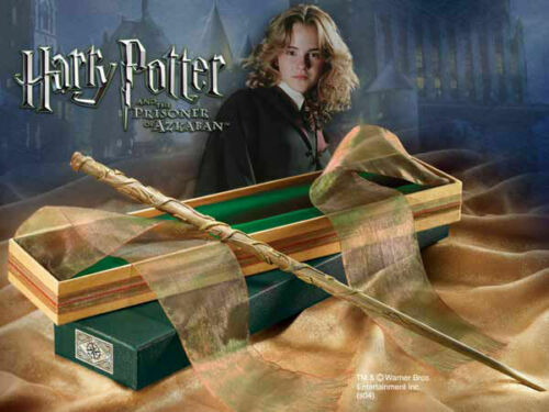 Harry Potter Wand Hermine Granger Zauberstab Hermines Magie Wands Stick Boxed DE
