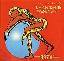 ROOT JACKSON'S UNFINISHED BUSINESS freestyle KDLP 3 uk kongo 1991 LP PS EX+/EX