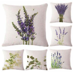 Linen Throw Pillow Case Cushion Cover