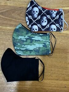 Washable-Face-Mask-With-Filter-Pocket-Adjustable-Many-Sizes-And-Patterns