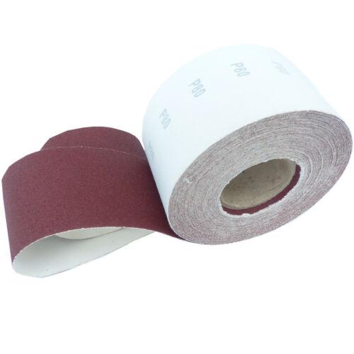 25m KLETT Schleifpapier Rolle 115mmX25m P40 Schleifrollen Rollenschleifpapier