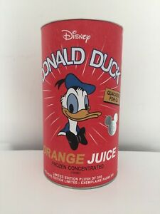 Disney D23 Expo 2019 Limited Edition Donald Duck Plush in a Juice Can Pre Sale