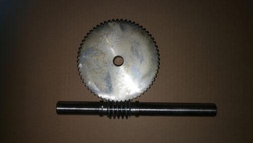 Schneckenrad Modul 2 mit    55 Zähne passend für unsere Schneckenwellen