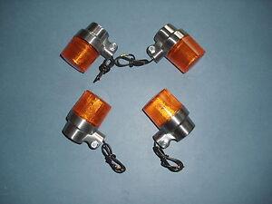 KR  Blinker Glas Gläser Indicator lens HONDA ST 70 DAX 73-79