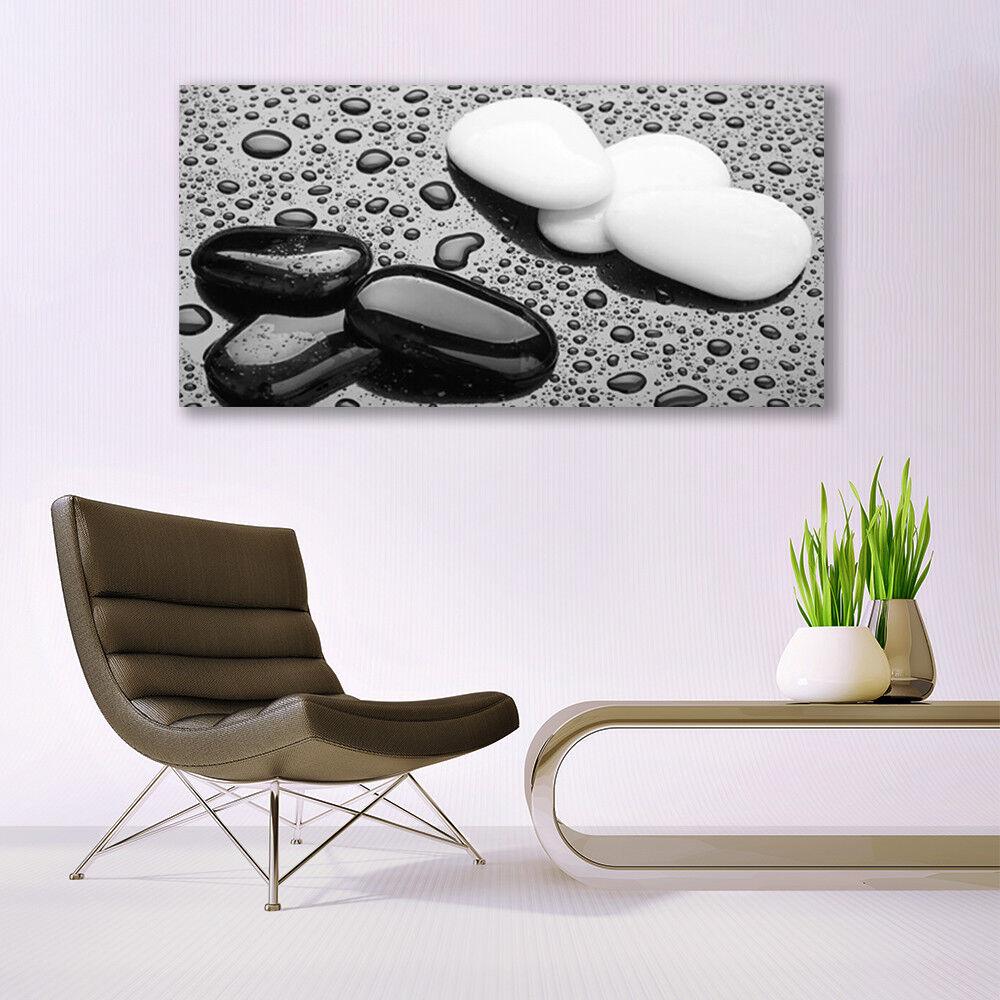 Glass print print print Wall art 140x70 Image Picture Stones Art f53ceb