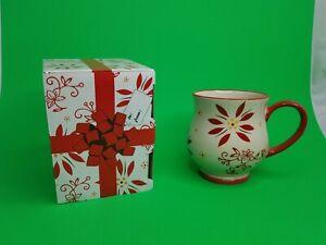 Temptations By Tara 16 oz Mug Cup Stoneware Ovenware w/ Gift Box