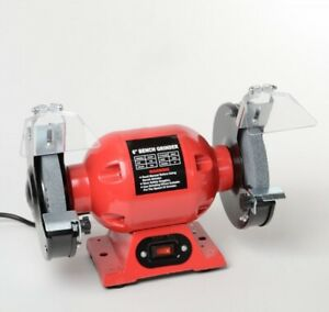 6-034-Bench-Grinder-Electric-Sharpening-Grinding-Wheel-Stone-NEW-FREE-SHIPPING