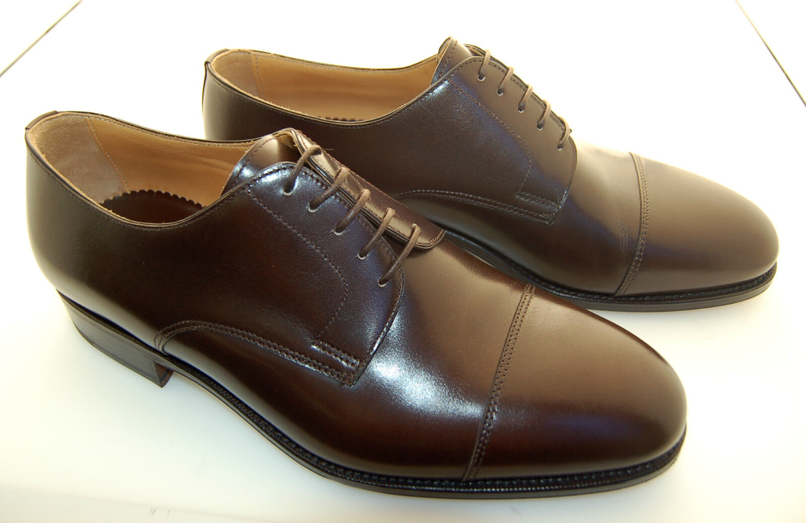 MAN DOUBLE DERBY CAPTOE - CALF 5048 - DOUBLE MAN LTH SOLE/SUOLA CUOIO+BLAKE CSTR c931d1