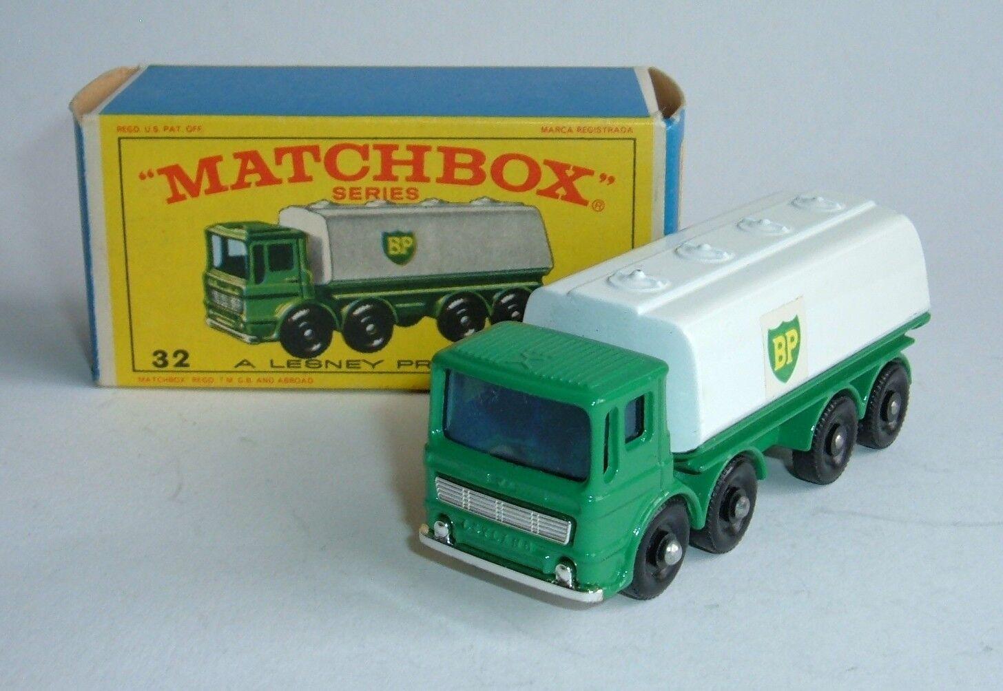 Matchbox Series No. 32, Leyland Petrol Tanker, - Superb Mint.