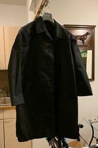 Details about Mens Prada Nylon Gabardine Coat Size 54