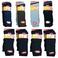 6 Pairs Mens Long Thermal Socks Thick Winter Warm Walking Work Boot Socks 6-11