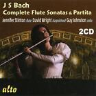 Die Flötensonaten/Partita BWV 1013 von Wright,Stinton,Johnson (2013)