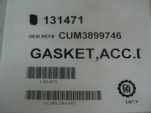 Accessory Drive Mounting Gasket for Cummins L10 M11 ISM PAI# 131471 Ref# 3899746