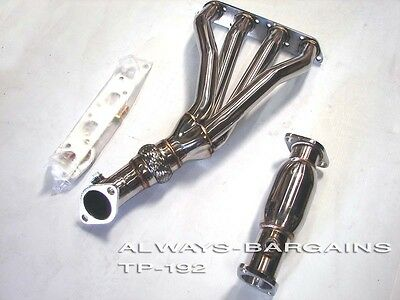 For Mini Cooper 02-06 R53 1.6L Base /& S Stainless Race Manifold Header /& Pipe