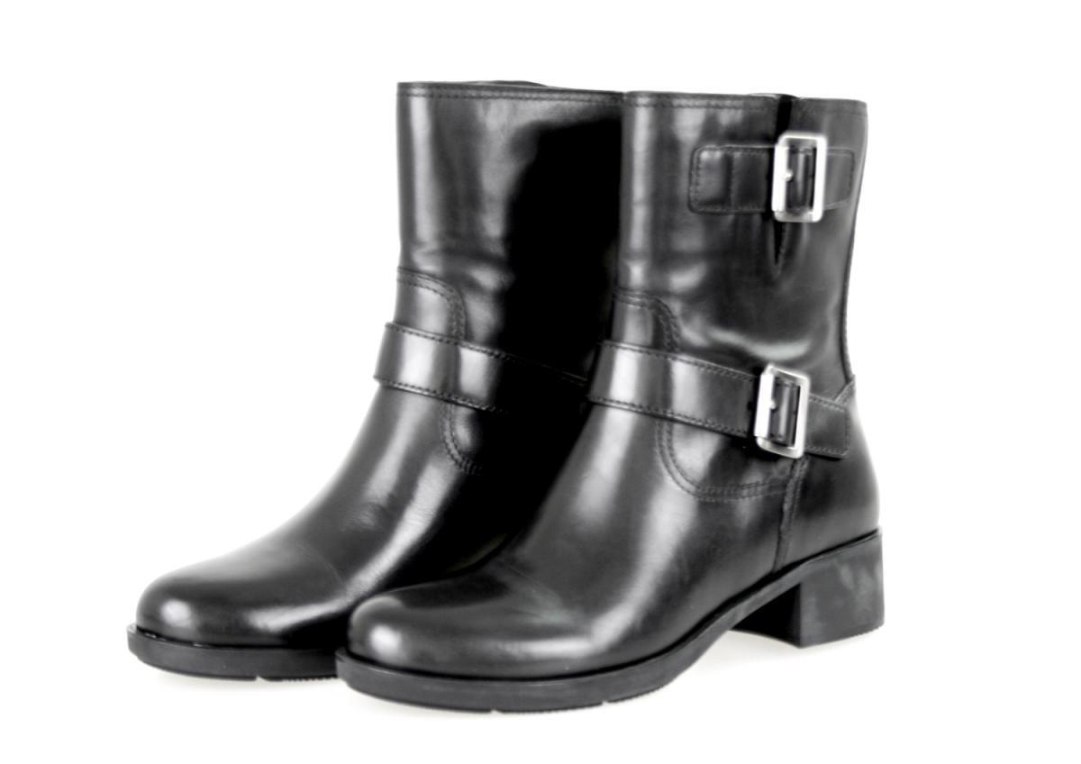 Lujo prada botín zapatos botas 3u5907 negro nuevo New 37,5 38