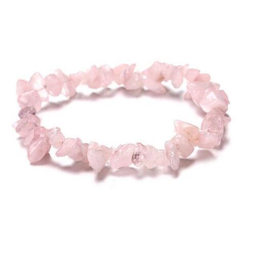Fashion jewelry bracelet lady natural gravel stone crystal agate beads bracelet