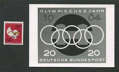 Brd Foto-essay 451 Olympia Tokio 1964 Olympics Photo-essay Proof Rare!! E146