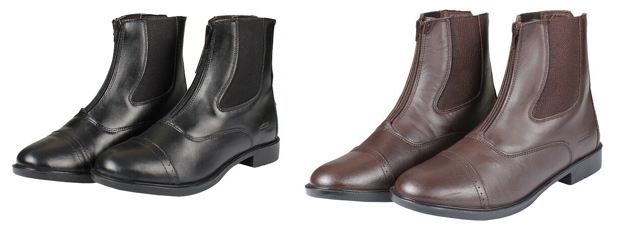 Horka Jodhpur Boot Natural LEATHER SHORT BOOT WITH FRONT ZIP