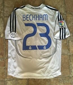 low priced 141f2 533f2 Details about Adidas Real Madrid 06/07 Home Soccer Jersey Youth Size L