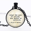 Adopt the pace of nature Black Glass Cabochon Necklace chain Pendant Wholesale
