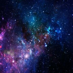 Vinyl Photo Background Star Space Nebulae Show Backdrop