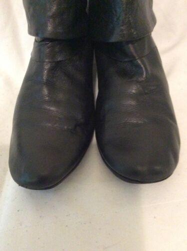 cuir noires en London taille Bottines Fly 37 kwOPZiuTlX