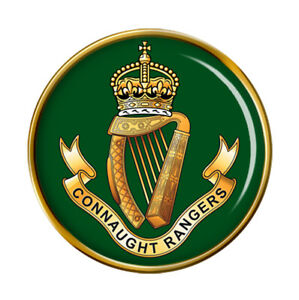 Connaught-Rangers-Armee-Britannique-Broche-Badge